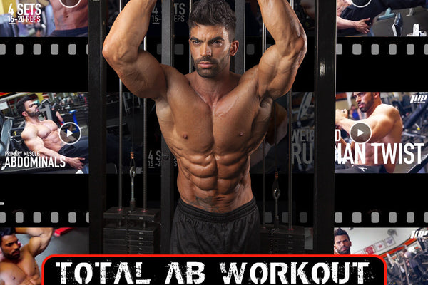 total ab workout by sergi constance