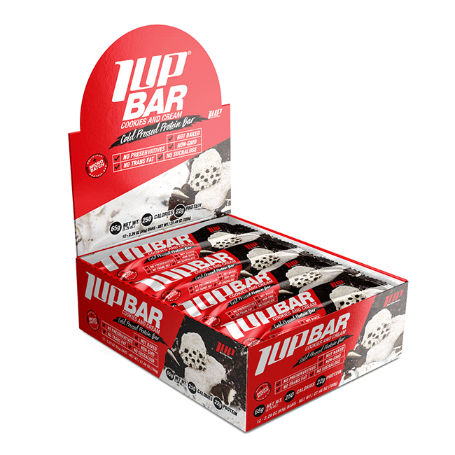 1UP Protein Bars 1 Box 12