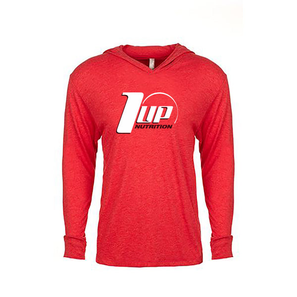1UP Nutrition Men's Red Hoody