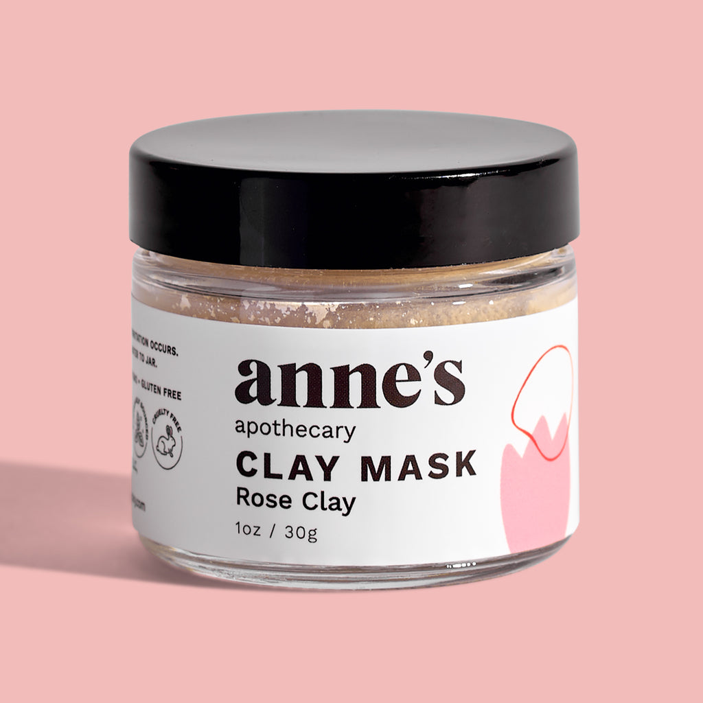 Clay Mask with Rose Clay