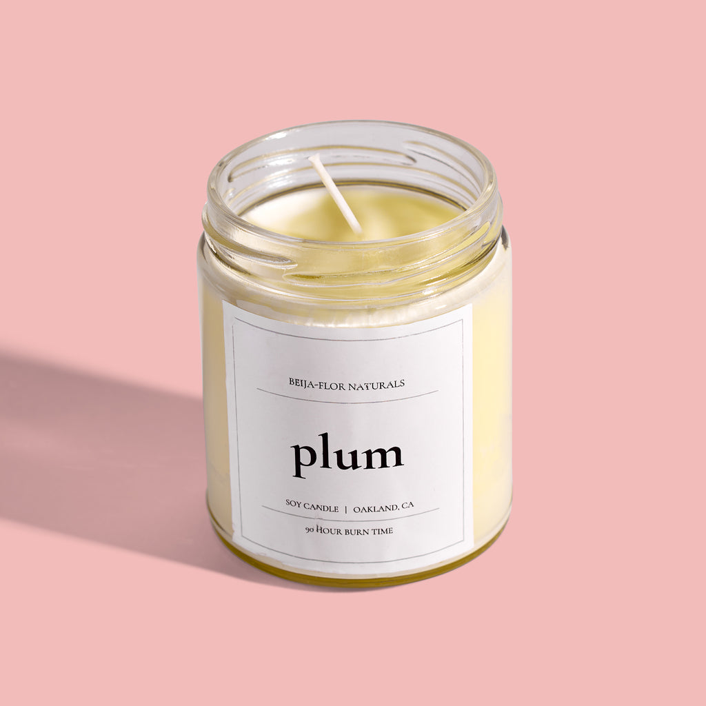 Plum Soy Candle