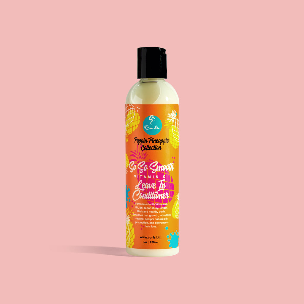 Poppin Pineapple So So Smooth Vitamin C Leave-In Conditioner