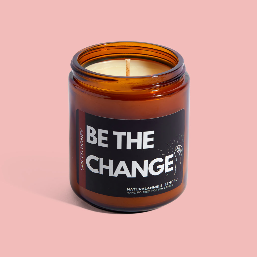 Be The Change! Spiced Honey Soy Candle