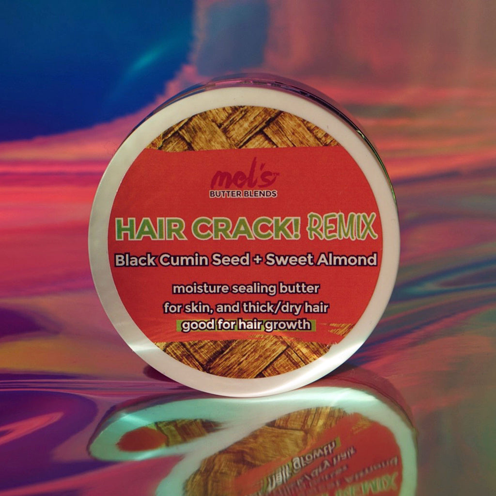Hair Crack! REMIX Black Seed + Sweet Almond Blend