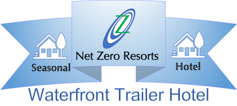 Net Zero Resort Waterfront Trailer Hotel