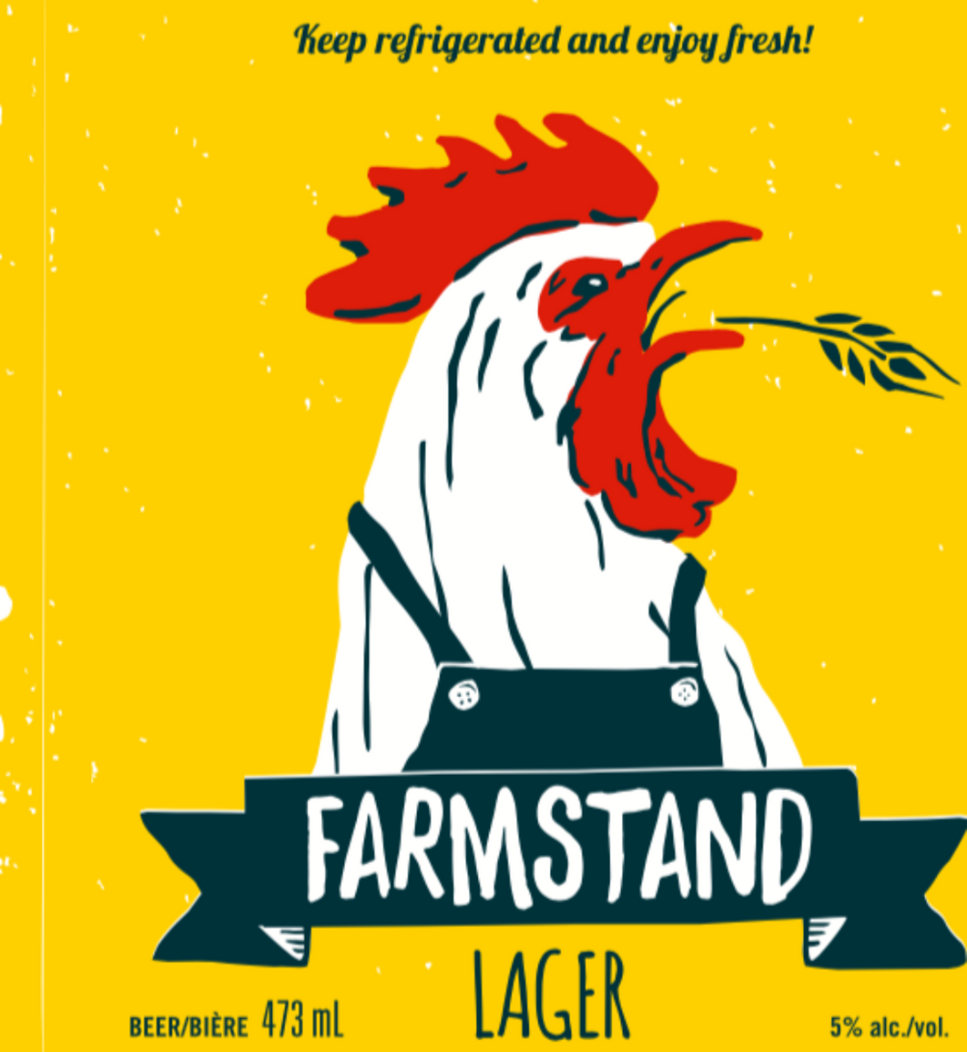 William Street Beer - Farmstand Lager