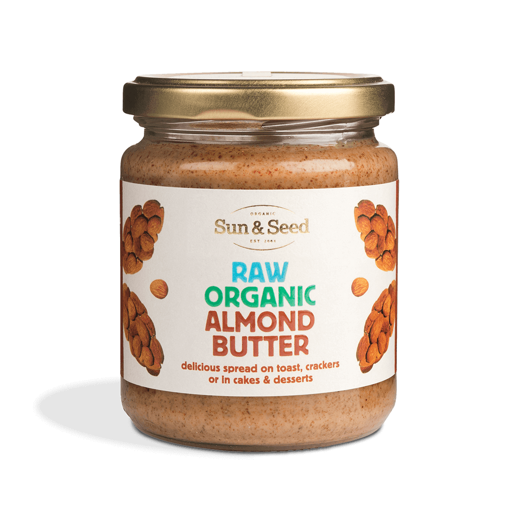 Organic Raw Almond Butter 250g