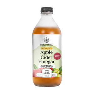 Apple Cider Vinegar with Immunity Herbal Extracts Organic