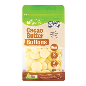 Cacao Butter Buttons 250g