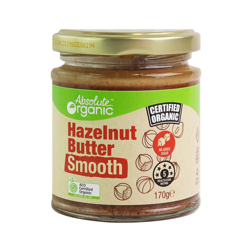 Hazelnut Butter Smooth 170g