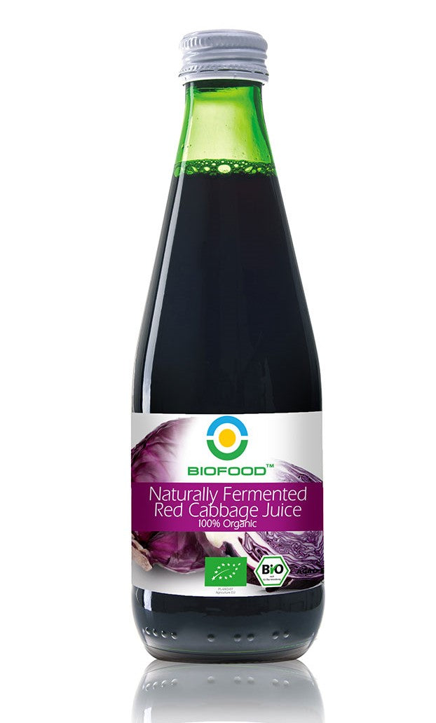 Naturally Fermented Red Cabbage Juice