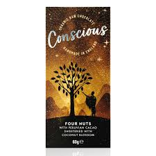 Conscious Chocolate Four Nuts