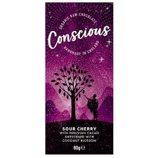 Conscious Chocolate Sour Cherry