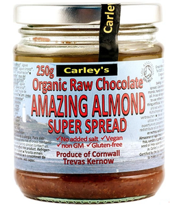 Organic Raw Chocolate & Almond Spread - Vegan