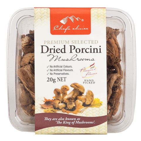 Dried Porcini Mushrooms 20g
