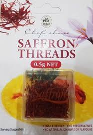 Saffron Threads on Card 0.5g