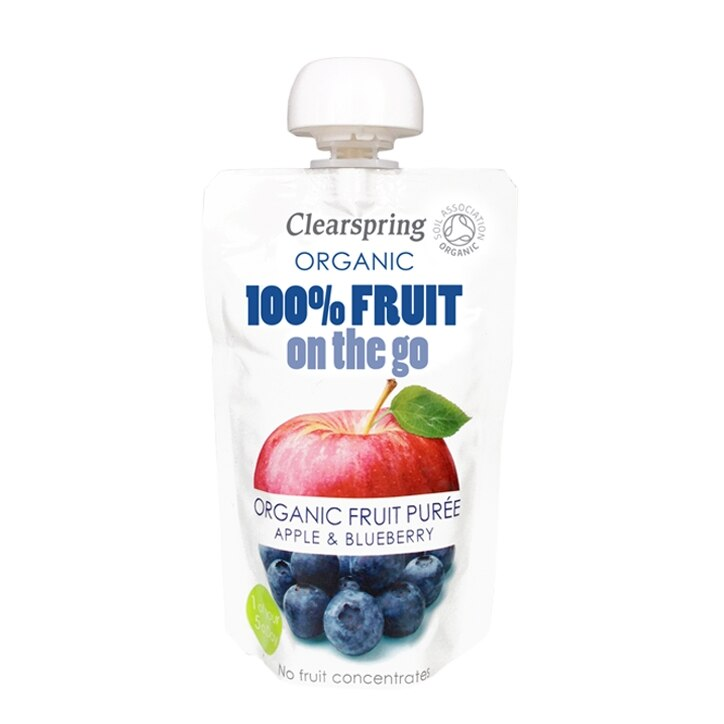 Organic 100% Fruit on the Go Apple & Blueberry