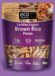 Pasta Penne Brown Rice 200G