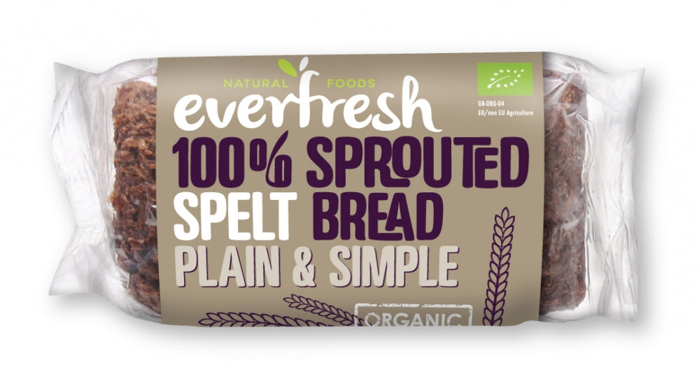 Organic Sprouted Spelt Bread