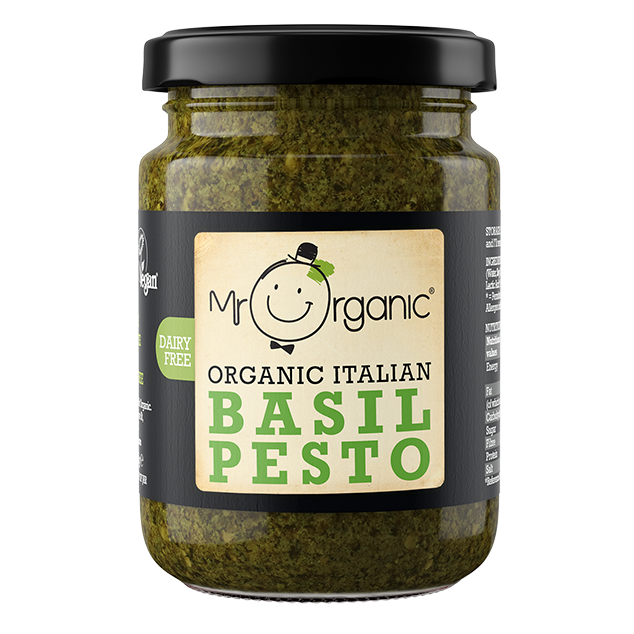 Mr. Organic Italian Basil Pesto