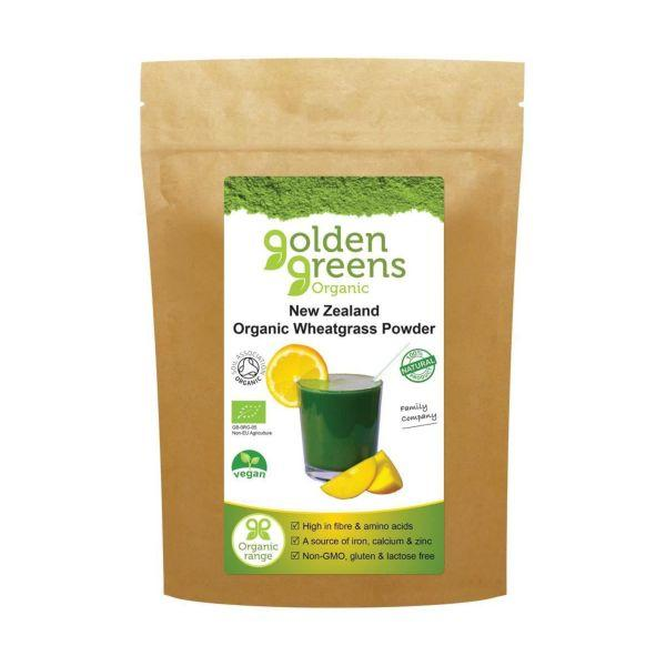 Organic New Zealand Wheatgrass Powder 100g