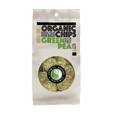Organic Green Pea Chips