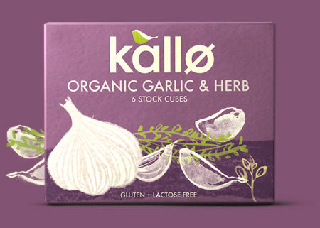 Organic Garlic and Herb Stock Cubes