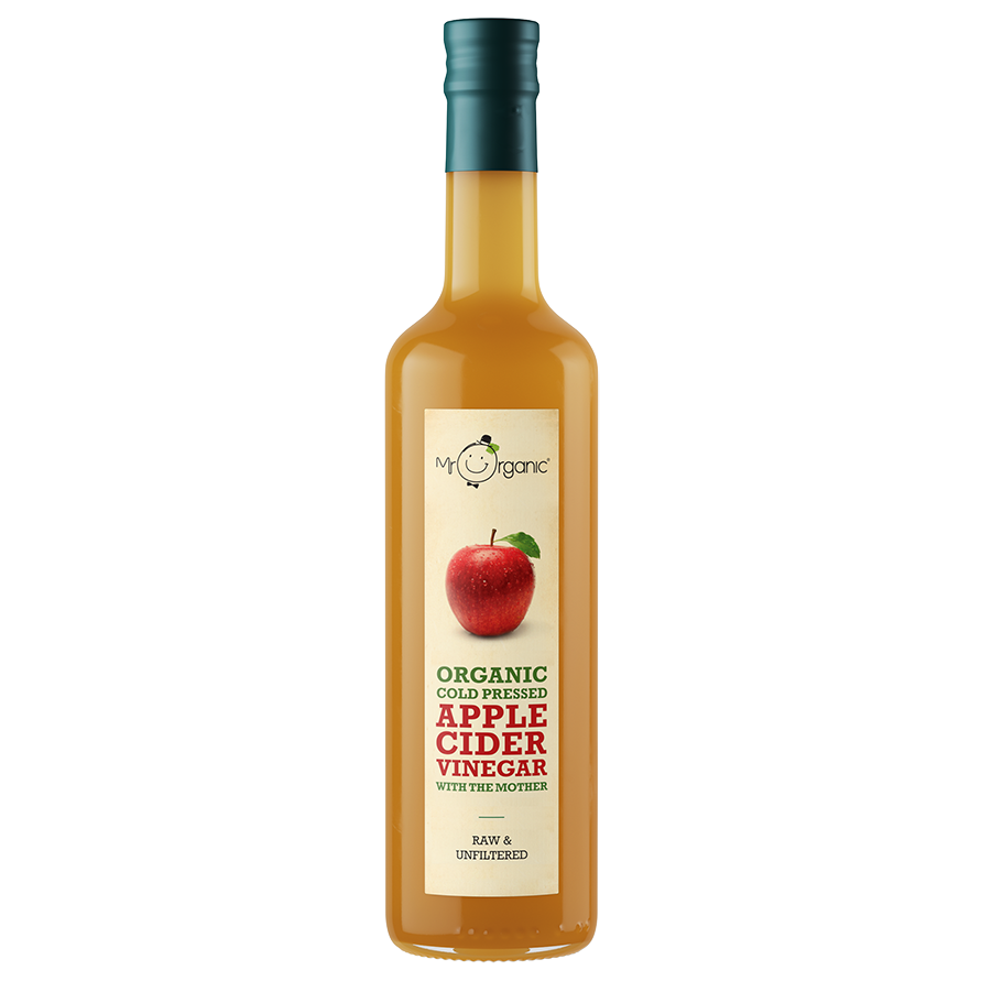 Mr. Organic Cold Pressed Apple Cider Vinegar with the Mother