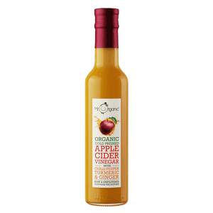 Mr. Organic Cold Pressed Apple Cider Vinegar with Chilli Pepper, Turmeric and Ginger