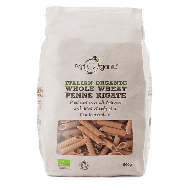Mr Organic Whole Wheat Penne