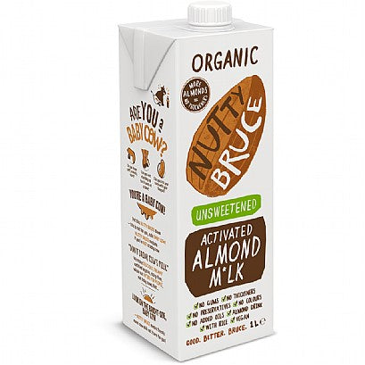 Organic Activated Unsweetened Almond Milk