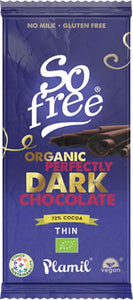 So Free Organic Perfectly Dark 72% Cocoa