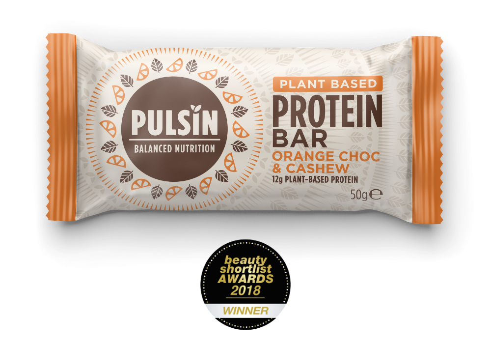 Orange Choc Chip Protein Snack