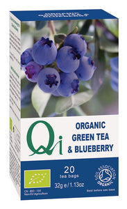Organic Green Tea & Blueberry