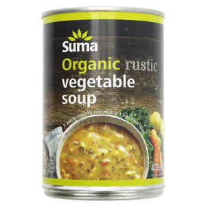 Organic Rustic Vegetable Soup