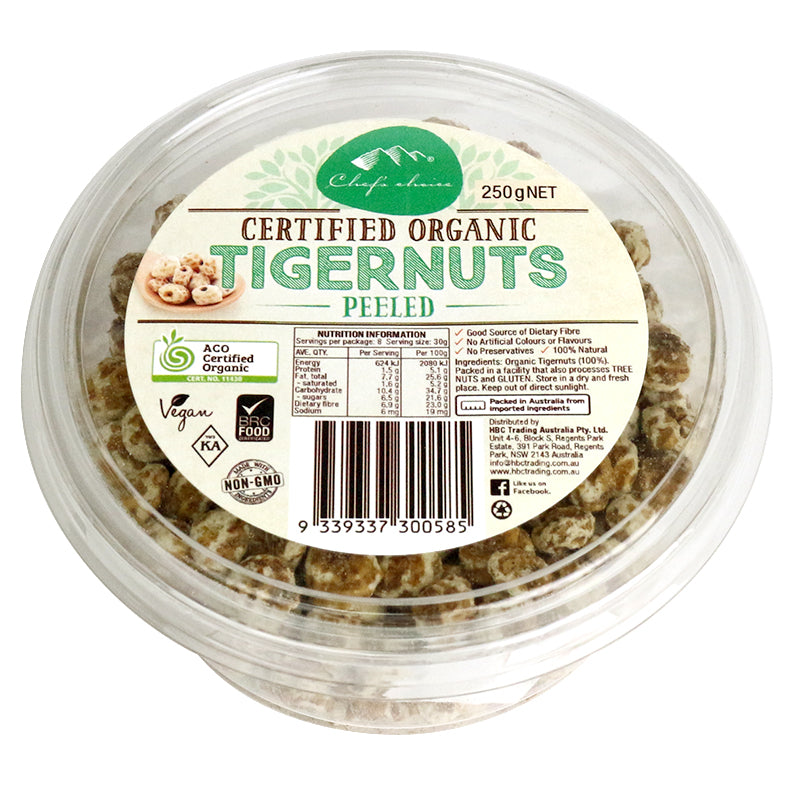 Organic Peeled Tigernuts