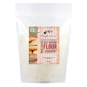 Organic Stoneground Self Raising Flour 500g