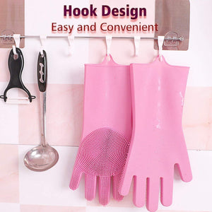 Multi-functional Silicone Washing Gloves