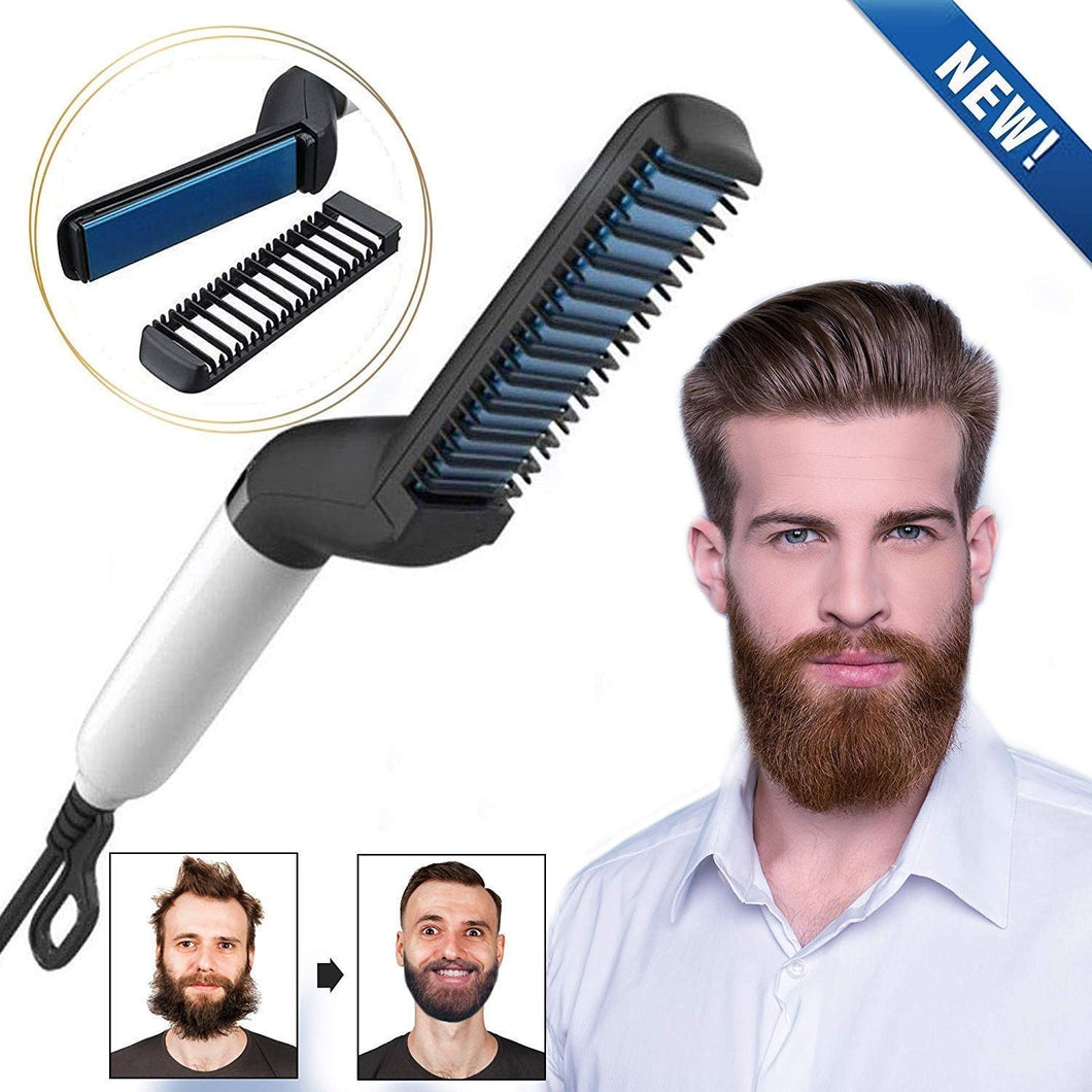 Mini Beard and Hair Straightener