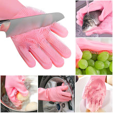 Load image into Gallery viewer, Multi-functional Silicone Washing Gloves