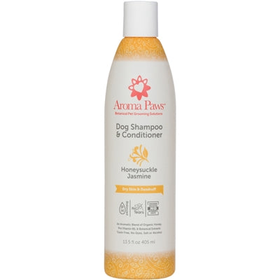 Honeysuckle Jasmine Dog Shampoo & Conditioner in One  13.5 Oz.