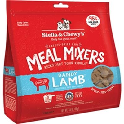 Stella & Chewys Dog Freeze-Dried Lamb Mixer 3.5 Oz.