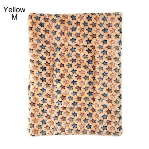 1PC Flannel Dog or Cat  Pet Bed Mat Plush - For Paw Sakes