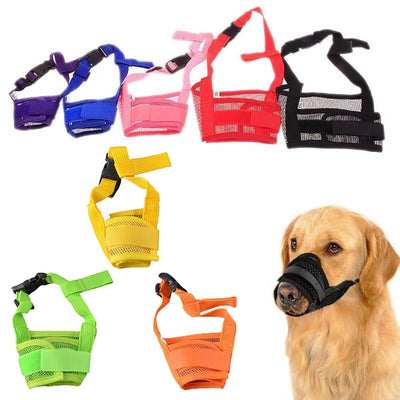 1PC Training Product Pet  Adjustable Mask Mesh - For Paw Sakes