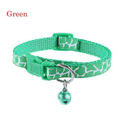 1PC Fashion Puppy/Kitten Buckle Collar with Bell - For Paw Sakes