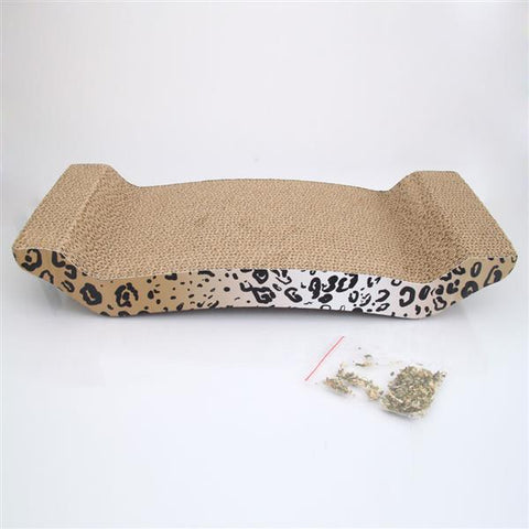 Corrugated Paper Grinding Claw Plate with Catnip