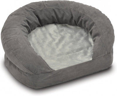 K&H Ortho Bolster Velvet Sleeper Pet Bed