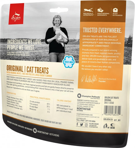 Orijen Freeze Dried Original Cat Treats 1.25 Oz.