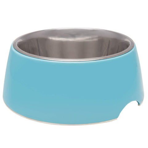 Loving Pet Electric Blue Retro Bowl