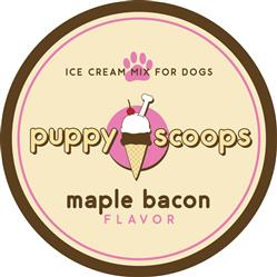 Puppy Scoops Ice Cream Mix - Maple Bacon